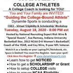 Dynamite Sports Virtual Recruiting Seminar