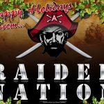 HAPPY HOLIDAYS RAIDER NATION