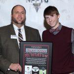 Raiders Recognized Kopec and Coach Nichols