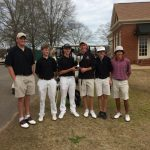 Boys Golf takes 2nd