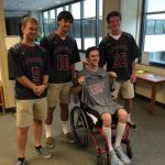 Raider Lacrosse Teams up with Shepherd Center