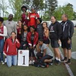 Raider Track Region Champs