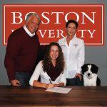 Sam Morton to Row at Boston