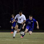 Boys Soccer with Region Win over North Forsyth