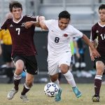 Third-ranked Mill Creek collapses late, falls in PKs to Alpharetta in first round