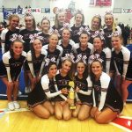 1st Place for Comp Cheer