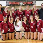 JV Volleyball Closes out Season with Championship
