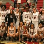 Alpharetta Girls Varsity Basketball 17-18 Tourney Champs