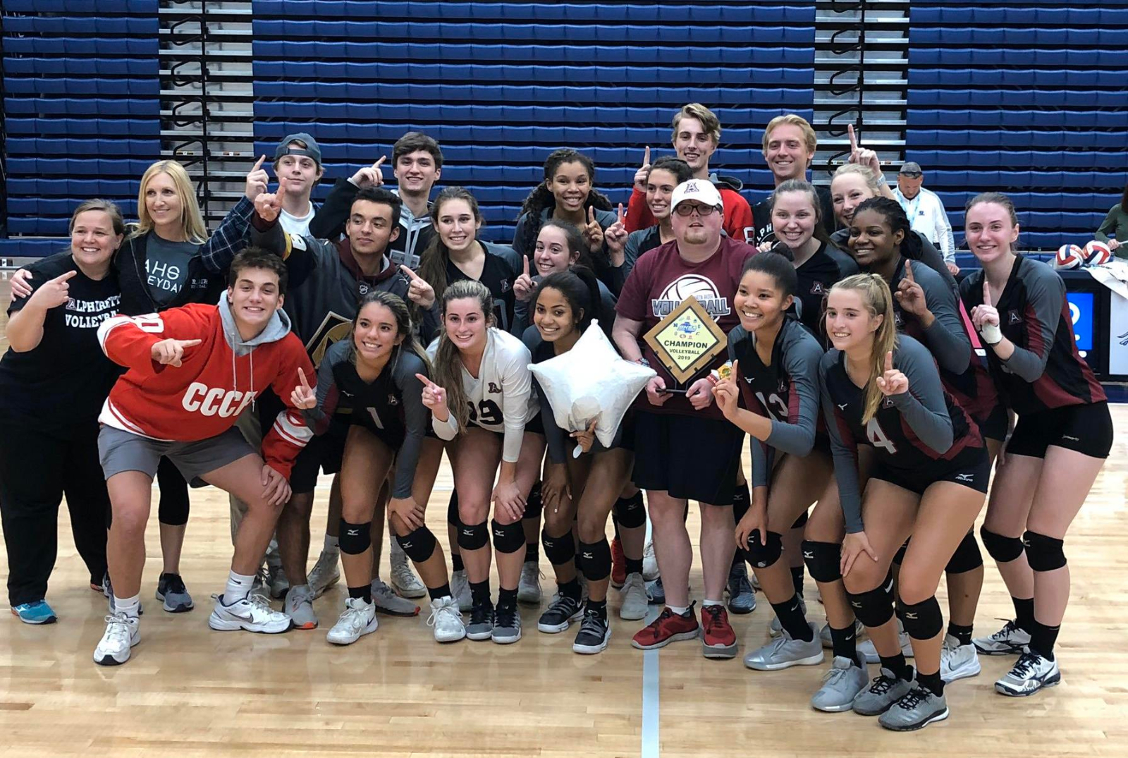 Volleyball – Region Champs