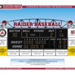 Act Now for Sponsorship Opportunities on New AHS Baseball Scoreboard