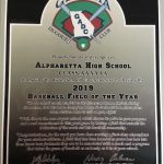 Georgia Dugout Club Recognizes Alpharetta High School Baseball