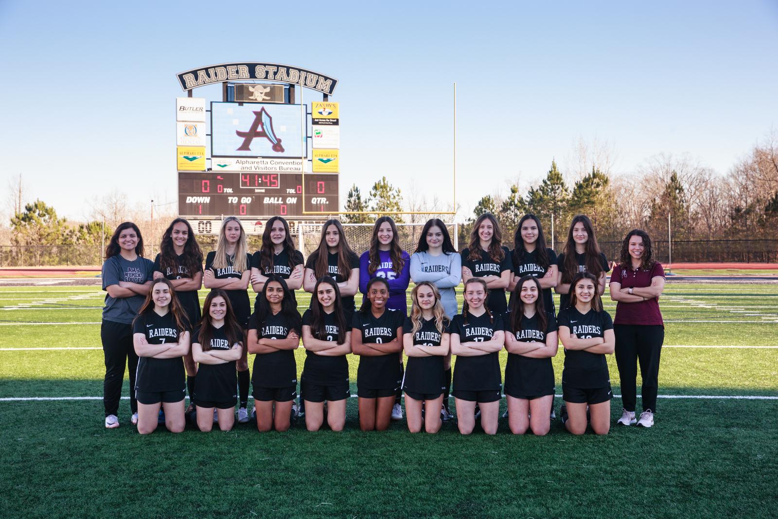 JV Girls Soccer 2021
