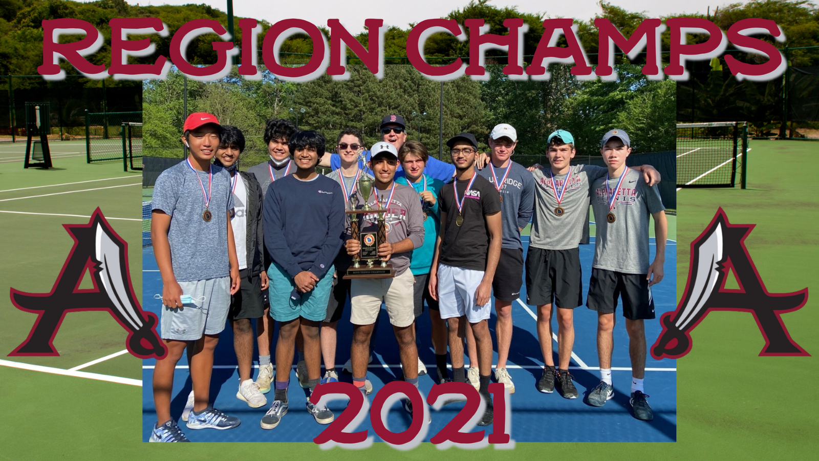 Congrats Tennis – Region Champs