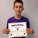 Athlete of the Week  9/21/15