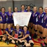 Varsity Volleyball Takes St. Clair Title