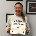 Athlete of the Week Johanna Schultz