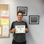 Noah Brocato Athlete of the Week April 25th