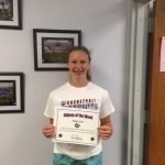 Maddie King Athlete of the Week May 2nd