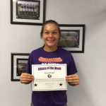 Athlete of the Week Kendra Morgan
