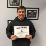 Athlete of the Week December 5th, 2016