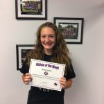 Grace Liebhart PHS Athlete of the Week