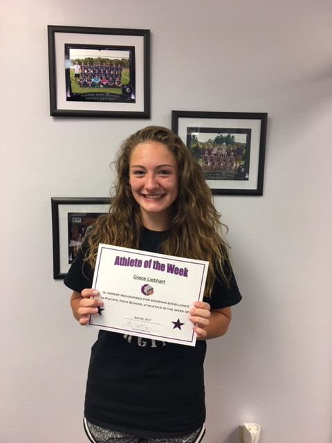 Grace Liebhart PHS Athlete of the Week