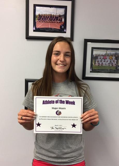Megan Meyers Pacific High School Athlete of the Week