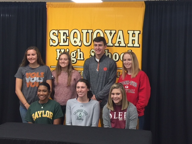 Congratulations to our latest signees!!!