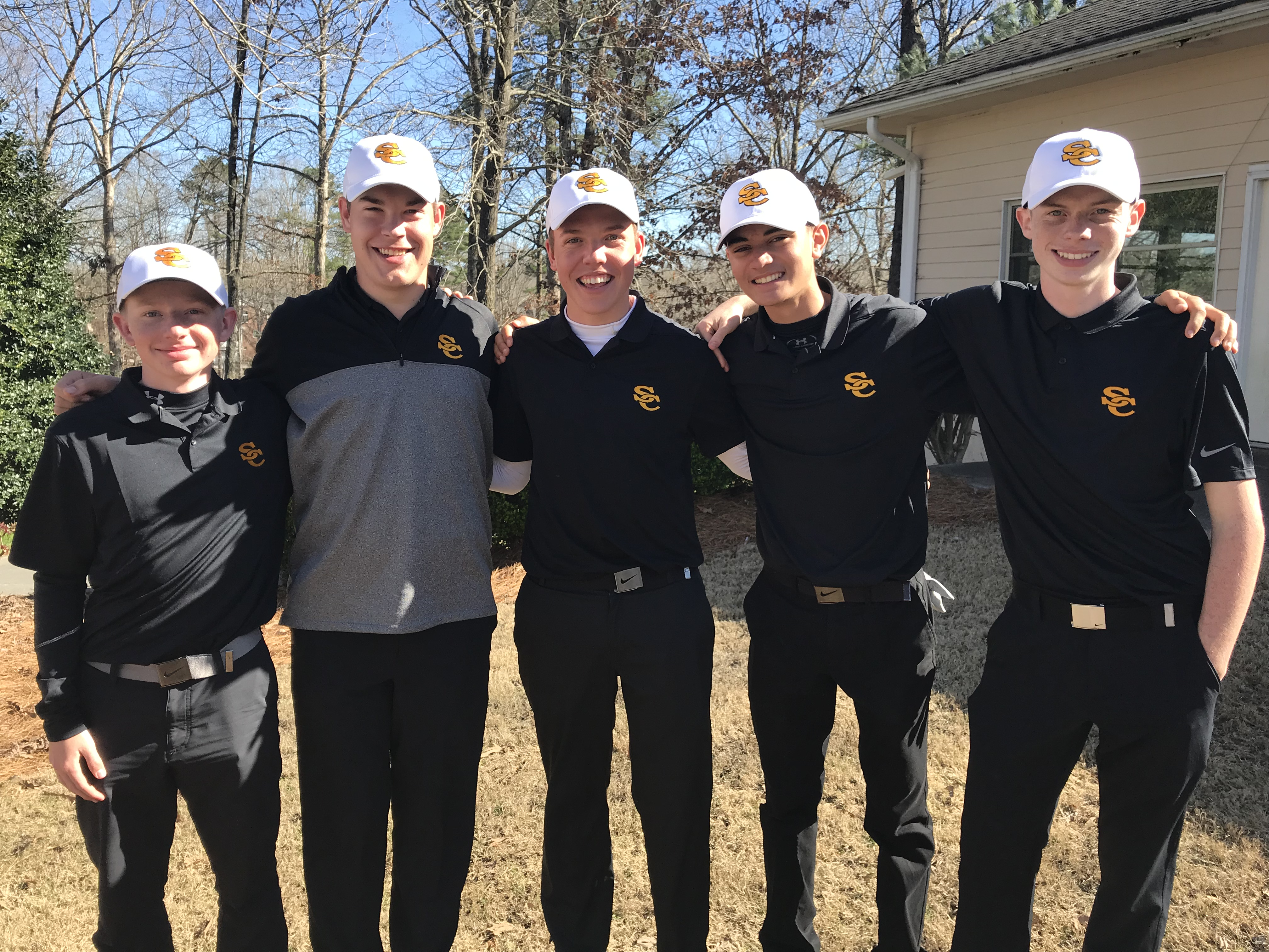 Boys Varsity Golf finishes 5th place at West Hall Invitational