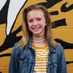 Congratulations to Taylor Tragesser SHS Sideline Cheer Athlete of the Month!