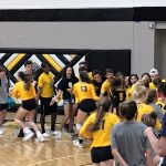 Girls Volleyball top State Champion Pope 3 – 1