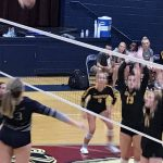 Volleyball beats Fellowship Christian. Girls now 20-1