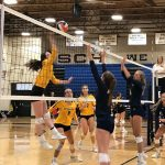 Girls Varsity Volleyball beats River Ridge 2 – 0