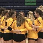 Girls Varsity Volleyball beats Rival Creekview