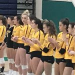 Volleyball tops #3 Harrison in Close Match. Now 25-1