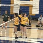 Volleyball Opens County Tournament with win over Creekview