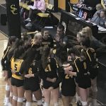 Volleyball tops Cherokee to remain undefeated in County Tournament