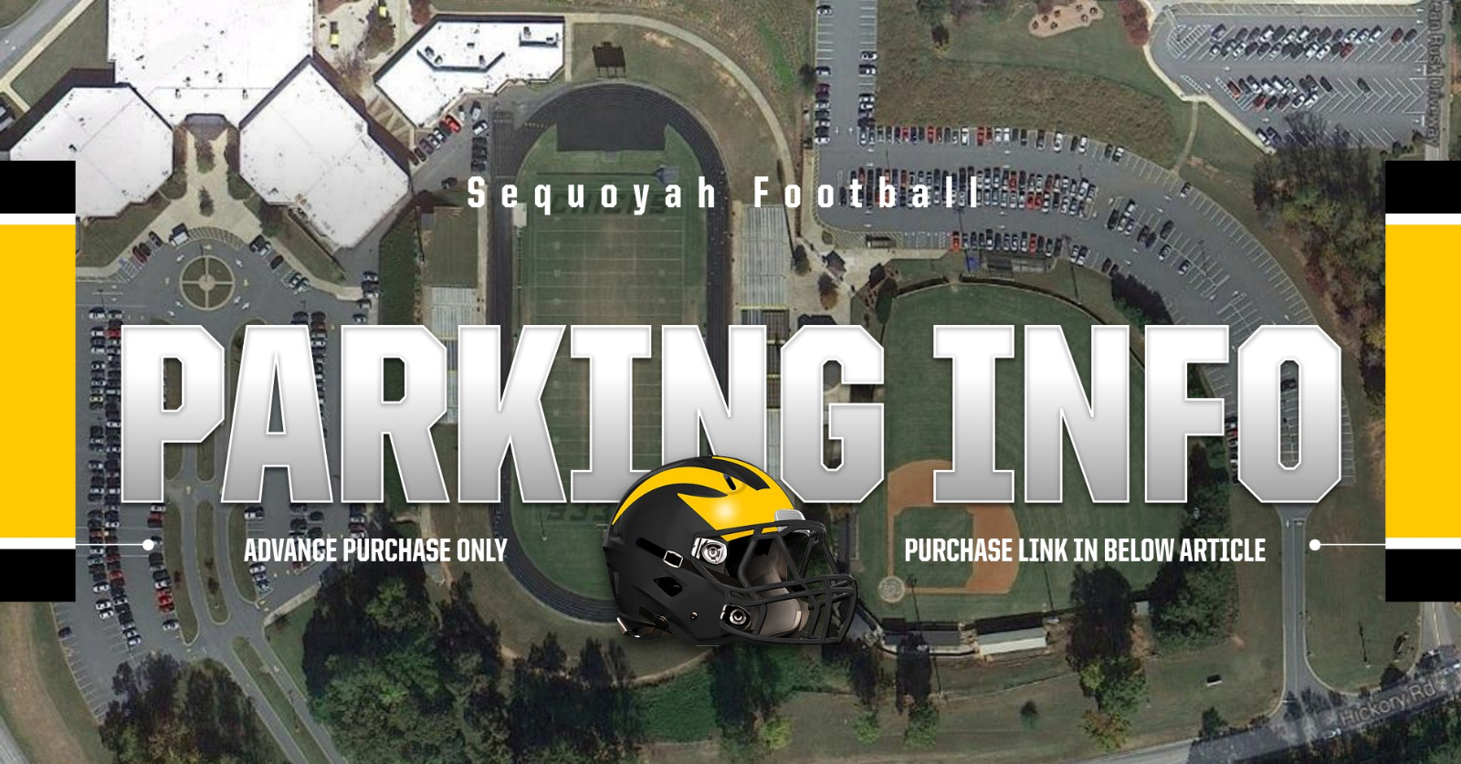 IMPORTANT – Football Parking Info