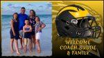 Welcome Coach Budde