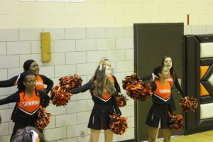 South High Cheerleaders vs. Benild St. Margarets