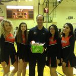 South High Cheerleaders and Coach Hyser