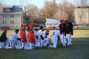South Varsity Tigers vs Fridley Baseball, April 6
