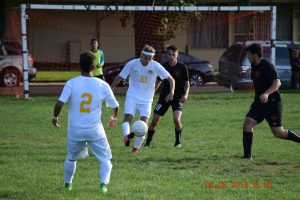 Boys varsity soccer September 9 vs Grand Junction