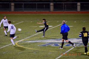 Boys Varsity Soccer October 6 vs Pine Creek