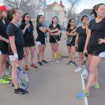Girls Varsity Tennis falls to Smoky Hill 4 – 3
