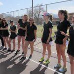 Girls Varsity Tennis falls to Pine Creek 5 – 2
