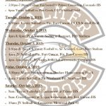 Palmer Events: Sept 30 – Oct 5, 2019