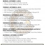 HOMECOMING WEEK EVENTS!!!