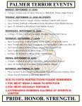 Palmer Events: September 14-19, 2020