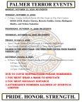 Palmer Events: October 12 – 17, 2020
